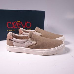 Crevo Baldwin Slip-On Shoes CV1376-105 Cream